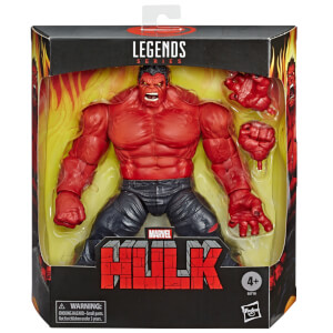 Hasbro Marvel Legends Series 6 Inch Collectible Red Hulk Exclusive