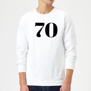 70 Sweatshirt - White