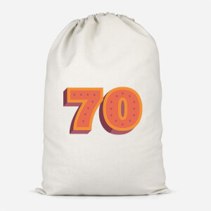 70 Dots Cotton Storage Bag