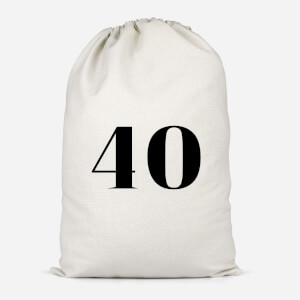 40 Cotton Storage Bag