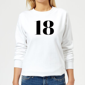 18 Women's Sweatshirt - White