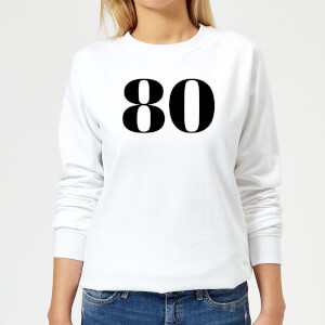 80 Women's Sweatshirt - White