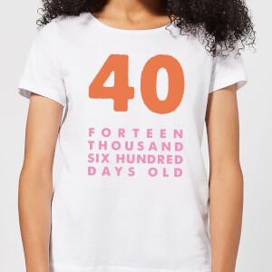 Birthday Ranges-45 Women's T-Shirt - White