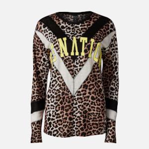 P.E Nation Women's Bar Down Long Sleeve T-Shirt - Leopard