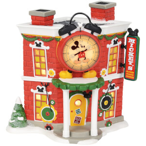 Disney Village Mickey's Alarm Clock Shop - UK Adaptor 17cm