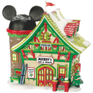 Disney Village Mickey's Ski and Skate - UK Adaptor 15cm