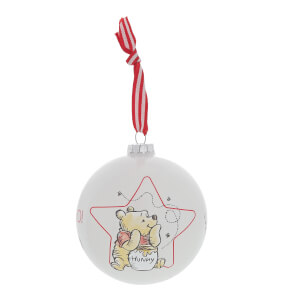 Enchanting Disney Collection Winnie the Pooh Bauble 10cm