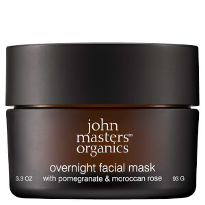 John Masters Organics Overnight Facial Mask with Pomegranate & Moroccan Rose 93g