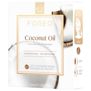 FOREO UFO Coconut Oil Mini Nourishing Face Mask (6 Pack)