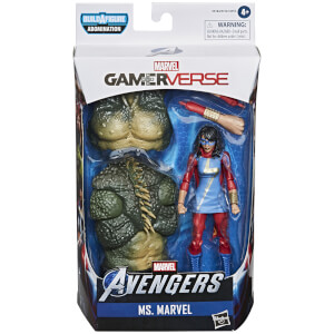 Figura de acción Ms. Marvel - Hasbro Marvel Legends Series Gamerverse