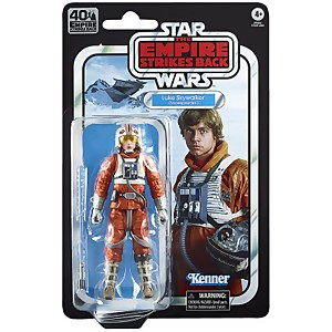 Star Wars The Black Series, figurine Luke Skywalker (Snowspeeder)
