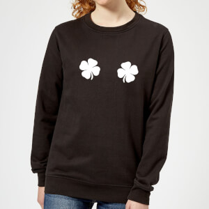 Lucky Boobs Women's Sweatshirt - Black