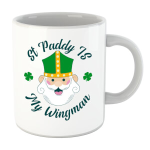 St Paddy Is My Wingman Mug