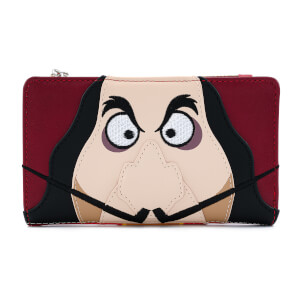 Loungefly Disney Peter Pan Captain Hook Cosplay Flap Wallet