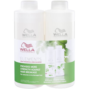 Wella Professionals Care Elements Renewing Duo 2 x 1000ml (Worth $150.00)
