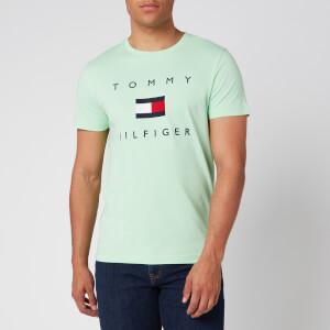 Tommy Hilfiger Men's Flag T-Shirt - Neo Mint