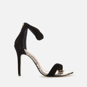 Ted Baker Women's Aurelis Barely There Heeled Sandals - Black