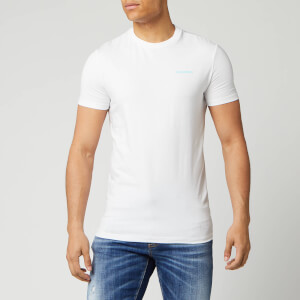 Dsquared2 Men's Neon Logo T-Shirt - White