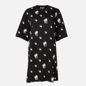 McQ Alexander McQueen Women's Botan Dress - Darkest Black