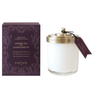 MOR Fragrant Candle 380g - Green Fig and Sandalwood
