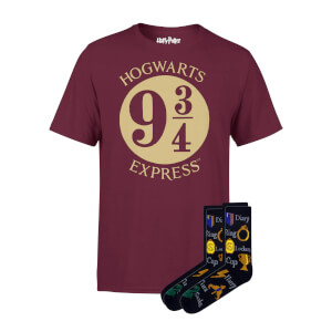 Lot Harry Potter T-shirts + Chaussettes