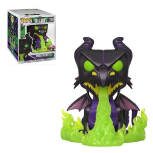 Disney - Malefica Versione Drago 6''/15CM (Glow In The Dark) EXC Figura Funko POP! Vinyl