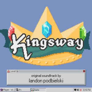 Kingsway: Original Video Game Soundtrack Colour LP