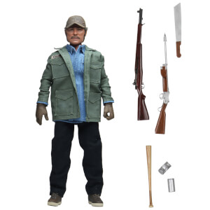 NECA Jaws Sam Quint 8 Inch Clothed Action Figure