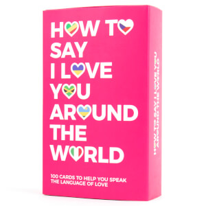 How to Say I Love You Around the World Cards