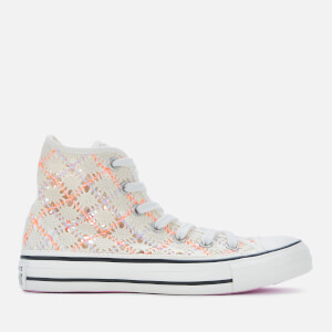 Converse Women's Chuck Taylor All Star Hi-Top Trainers - Egret/Multi/Black