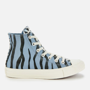 Converse Chuck Taylor All Star Hi-Top Trainers - Blue Slate/Black/Egret