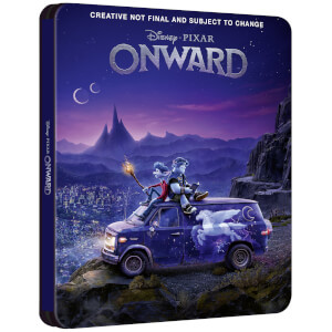Onward 4K + Blu-ray 2D - Steelbook Ed. Limitada Exclusivo Zavvi