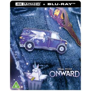 Onward (En Avant) - Steelbook 4K Ultra HD (Blu-ray 2D Inclus) - Exclusivité Zavvi