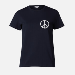 A.P.C. Women's Peace T-Shirt - Dark Navy