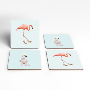 Fancy Footwear Coaster Set