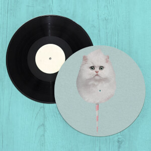 Cotton Candy Cat Slip Mat