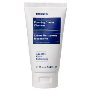 KORRES Greek Yoghurt Foaming Cream Cleanser 75ml