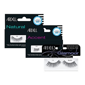 Ardell Black Lash – Glamour / Natural / Accent
