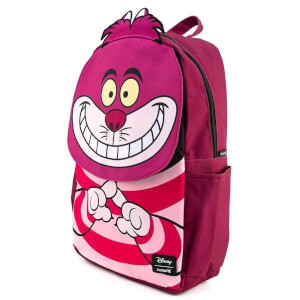 Loungefly Disney Cheshire Cat Cosplay Square Nylon Backpack