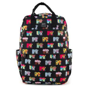 Loungefly MTV Logos Backpack Aop