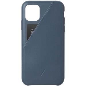Native Union Clic Card iPhone 11 Case - Navy