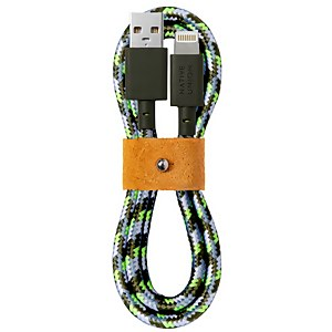 Native Union X Maison Kitsuné Belt Cable 1.2m - Green