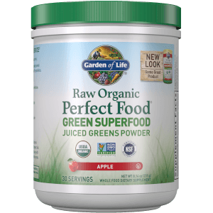 Raw Organic Perfect Food Grünes Superfood-Apfelpulver 231g