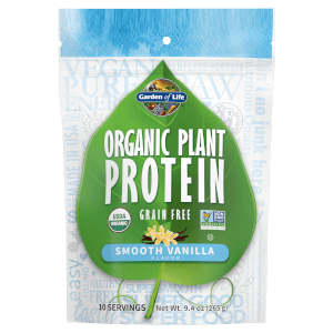 Poudre de Protéines Organic Plant - Vanille - 265g