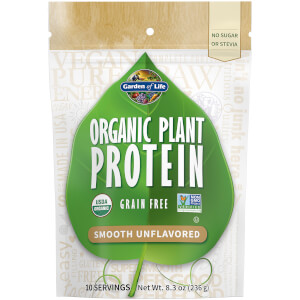 Organic Plant Protein - Unflavoured - 236g