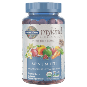 mykind Organics Men's Multivitamins - Berry - 120 Gummies