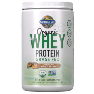 Organic Grass Fed Whey - Peanut Butter Chocolate - 390g