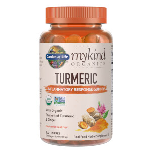 mykind Organics Herbal Turmeric - 120 Gummies
