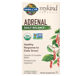 mykind Organics Herbal Stress Balance - 120 Tablets