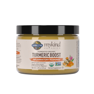 mykind Organics Herbal Turmeric - Boost - 135g